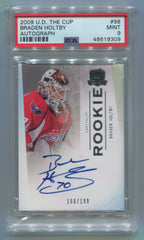 2009-10 The Cup #98 Braden Holtby #160/199 PSA 9 | Eastridge Sports Cards