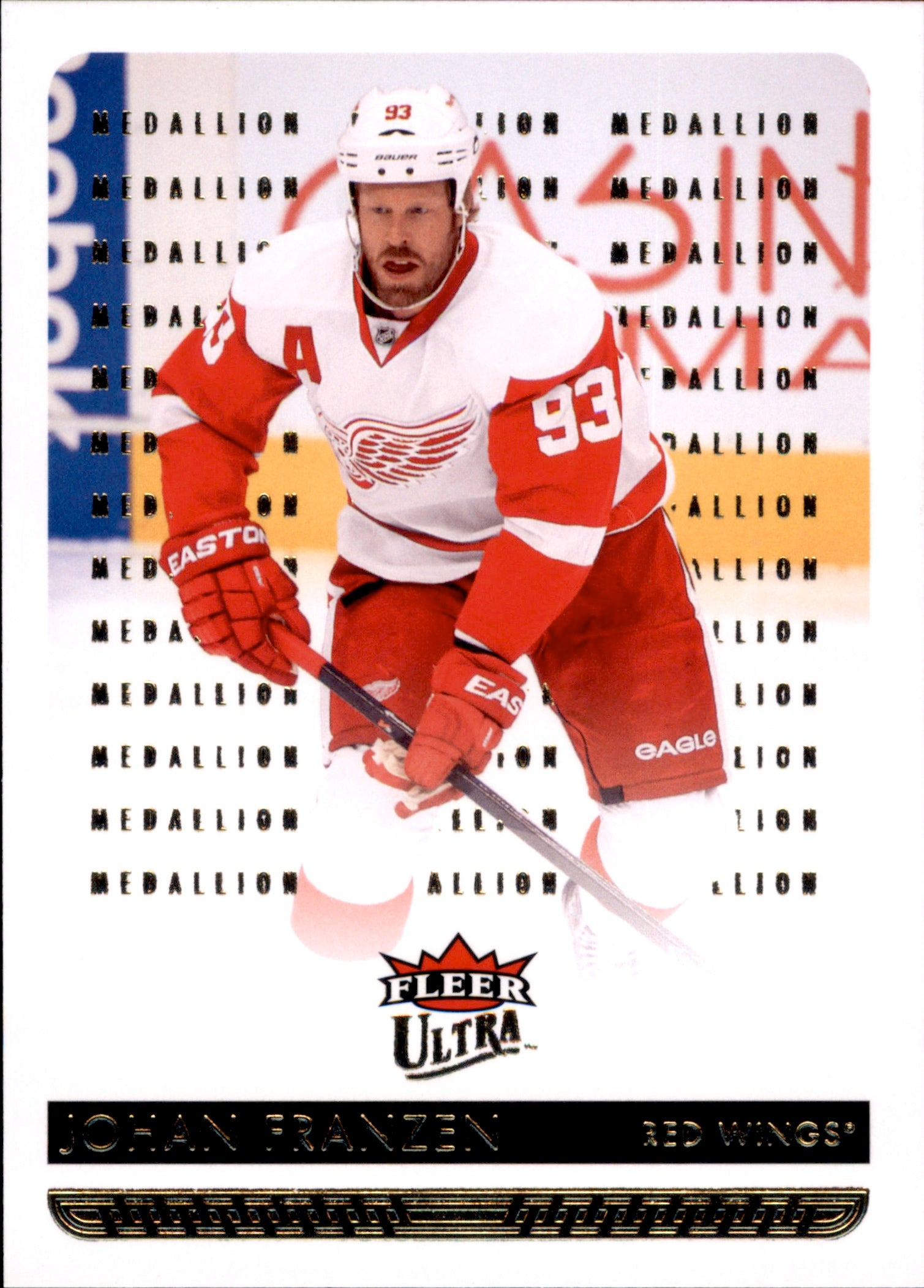 2014-15 Fleer Ultra Gold Medallion #065 Johan Franzen | Eastridge Sports Cards