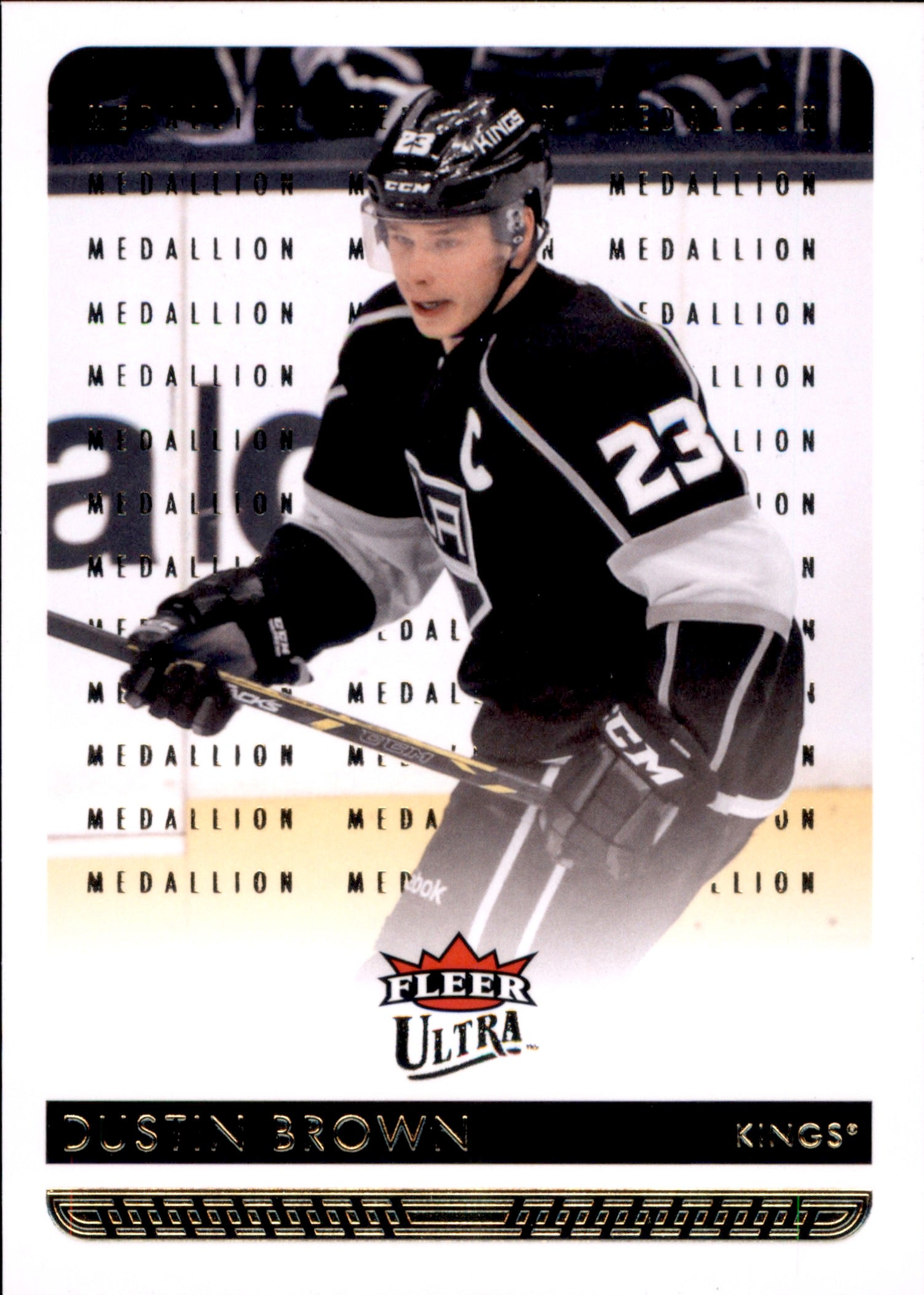 2014-15 Fleer Ultra Gold Medallion #082 Dustin Brown | Eastridge Sports Cards