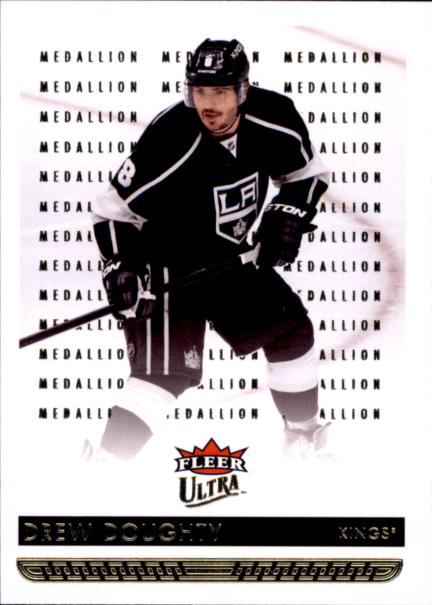 2014-15 Fleer Ultra Gold Medallion #085 Drew Doughty | Eastridge Sports Cards