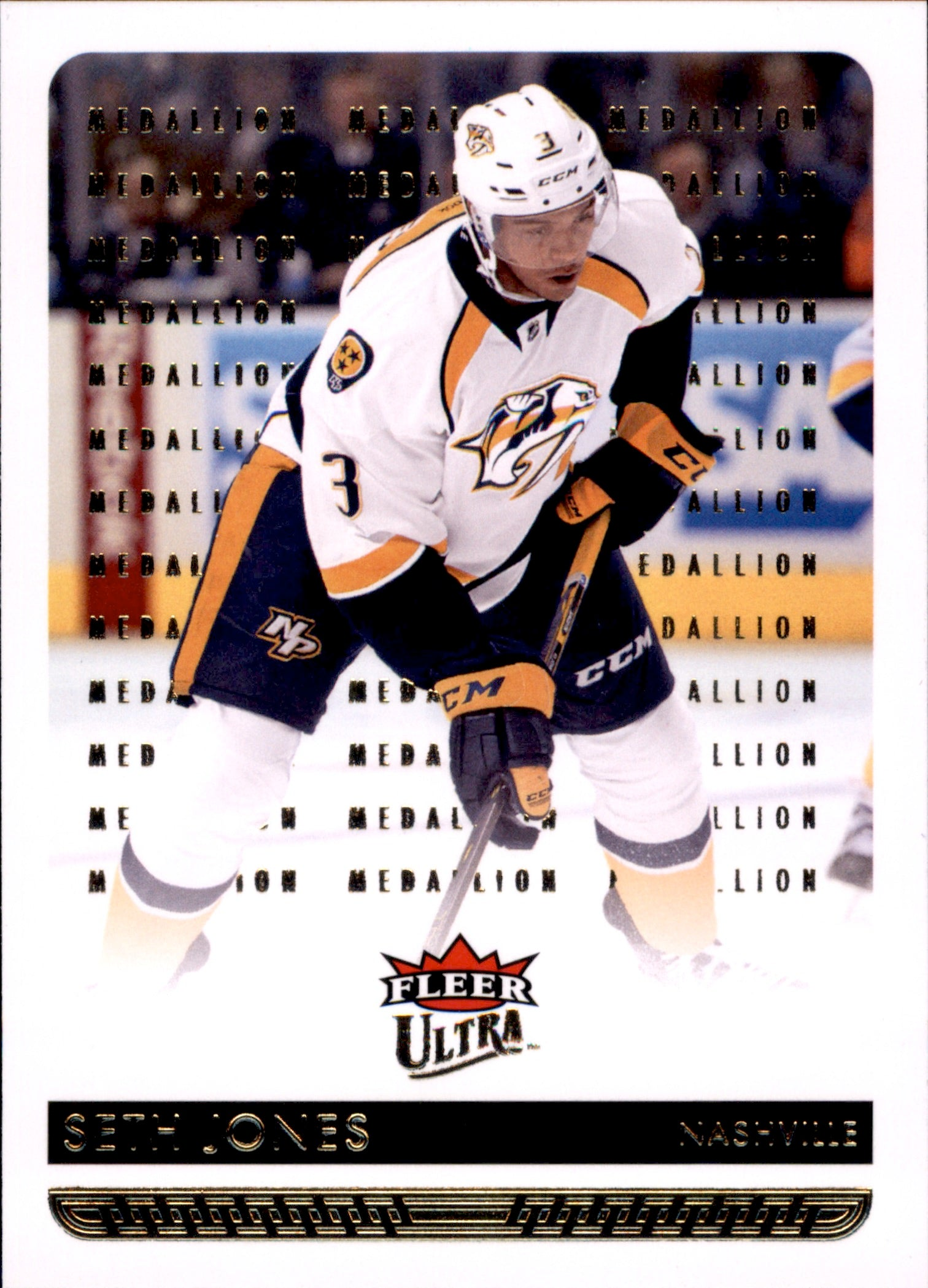 2014-15 Fleer Ultra Gold Medallion #103 Seth Jones | Eastridge Sports Cards