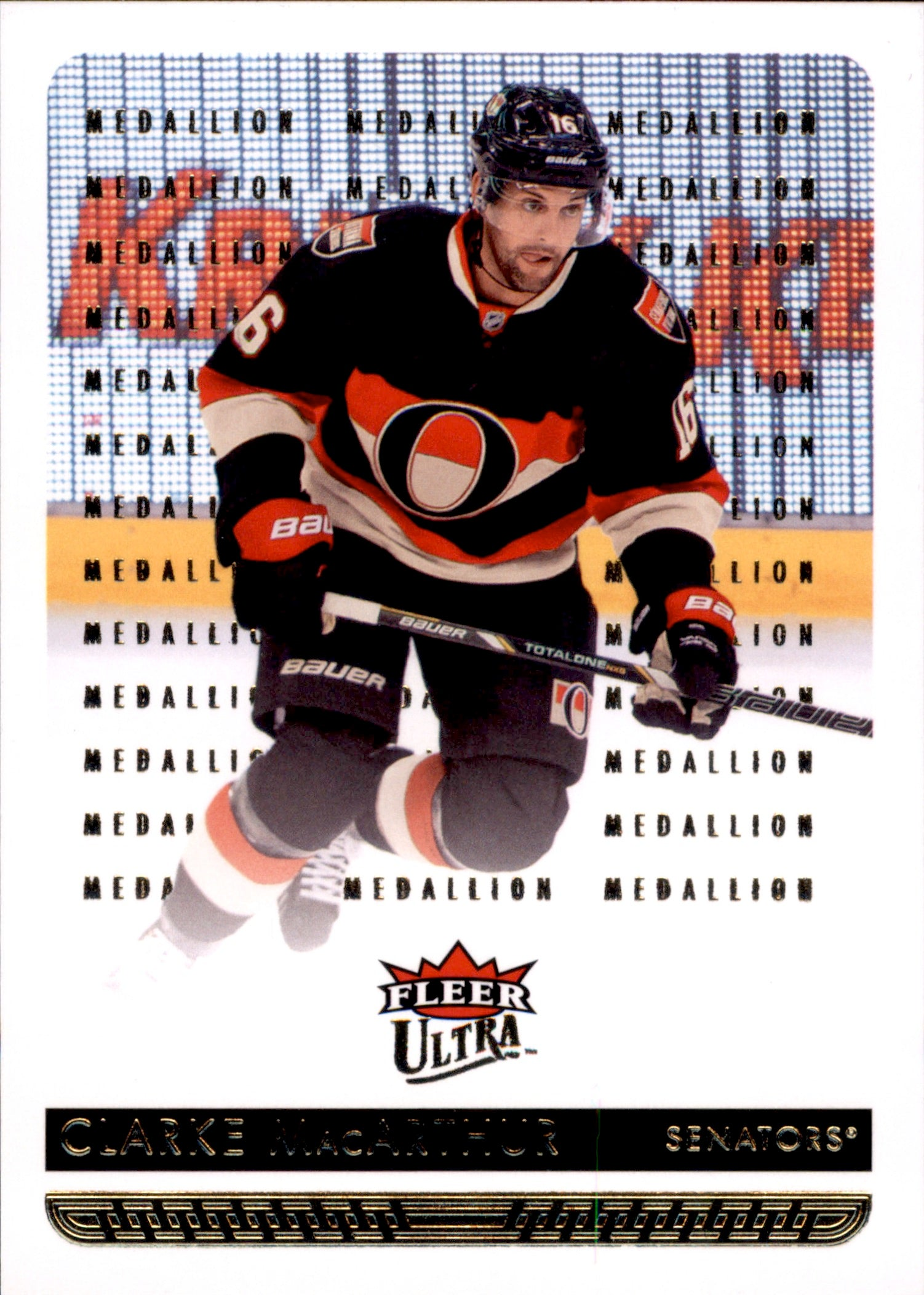 2014-15 Fleer Ultra Gold Medallion #125 Clarke MacArthur | Eastridge Sports Cards