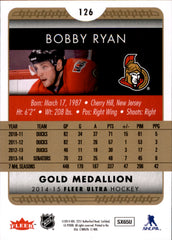 2014-15 Fleer Ultra Gold Medallion #126 Bobby Ryan | Eastridge Sports Cards