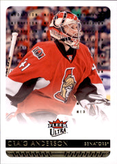 2014-15 Fleer Ultra Gold Medallion #128 Craig Anderson | Eastridge Sports Cards