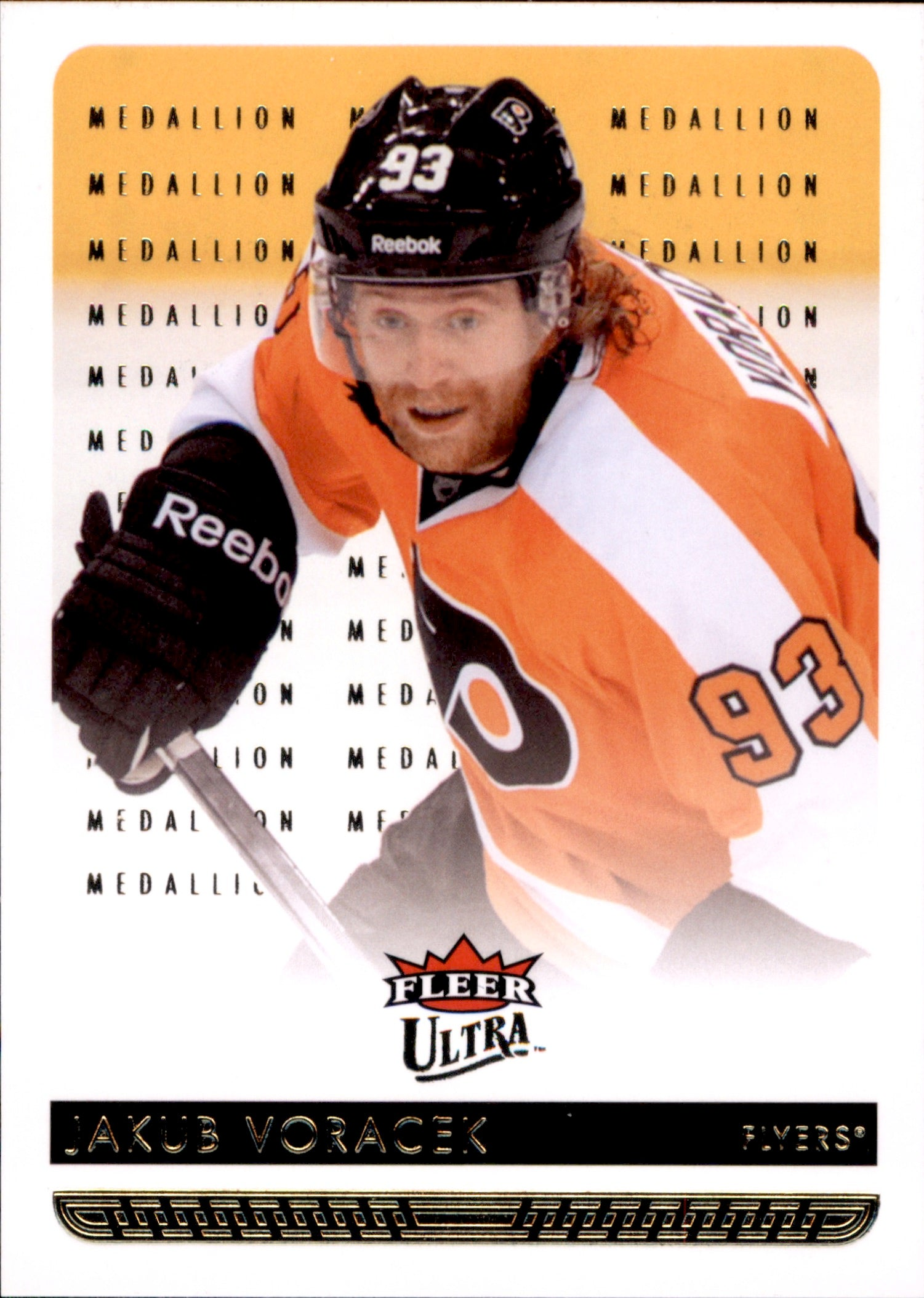 2014-15 Fleer Ultra Gold Medallion #132 Jakub Voracek | Eastridge Sports Cards