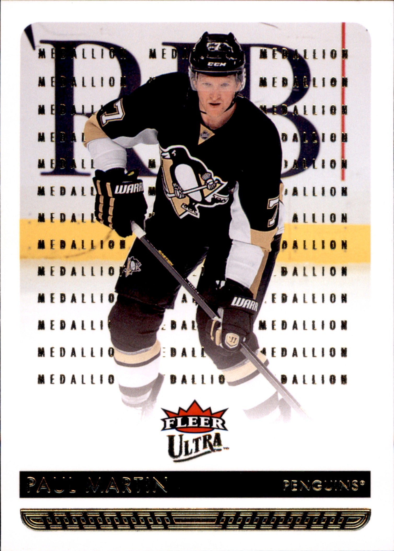 2014-15 Fleer Ultra Gold Medallion #147 Paul Martin | Eastridge Sports Cards