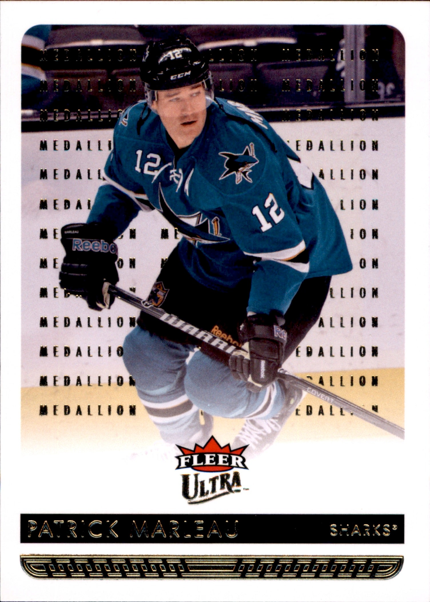 2014-15 Fleer Ultra Gold Medallion #157 Patrick Marleau | Eastridge Sports Cards