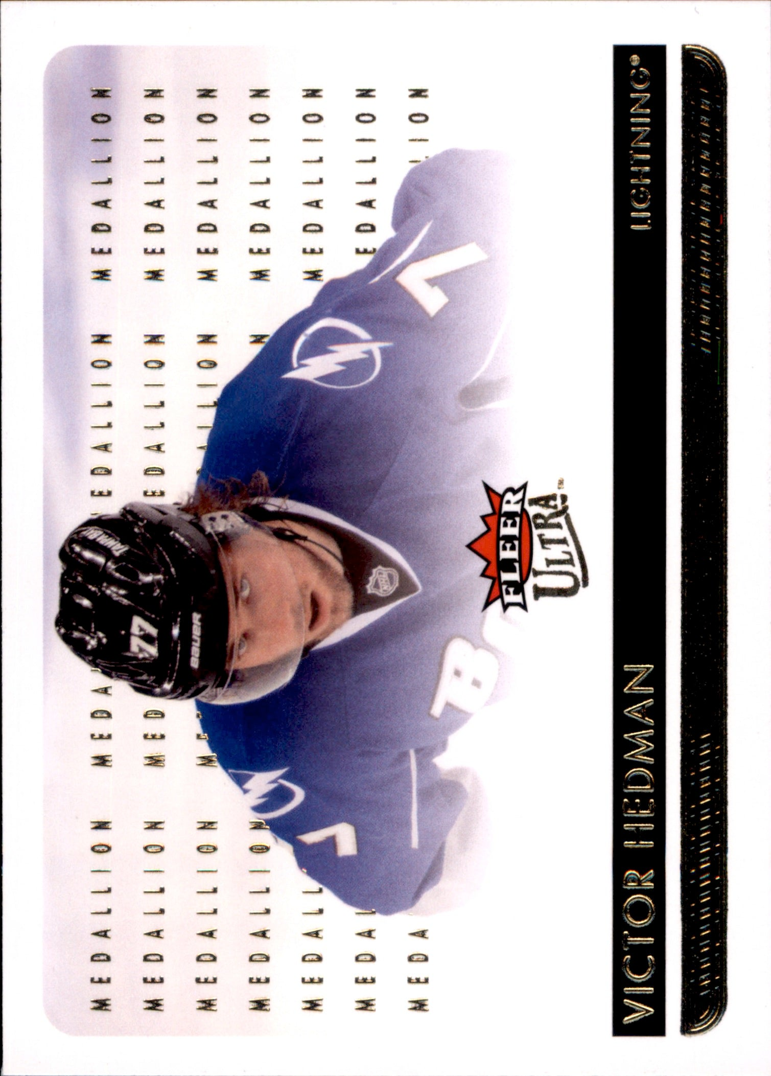 2014-15 Fleer Ultra Gold Medallion #173 Victor Hedman | Eastridge Sports Cards