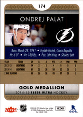2014-15 Fleer Ultra Gold Medallion #174 Ondrej Palat | Eastridge Sports Cards