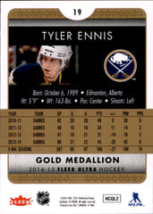 2014-15 Fleer Ultra Gold Medallion #019 Tyler Ennis | Eastridge Sports Cards