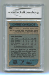 1986-87 Topps #171 Chris Chelios BCCG 9 | Eastridge Sports Cards
