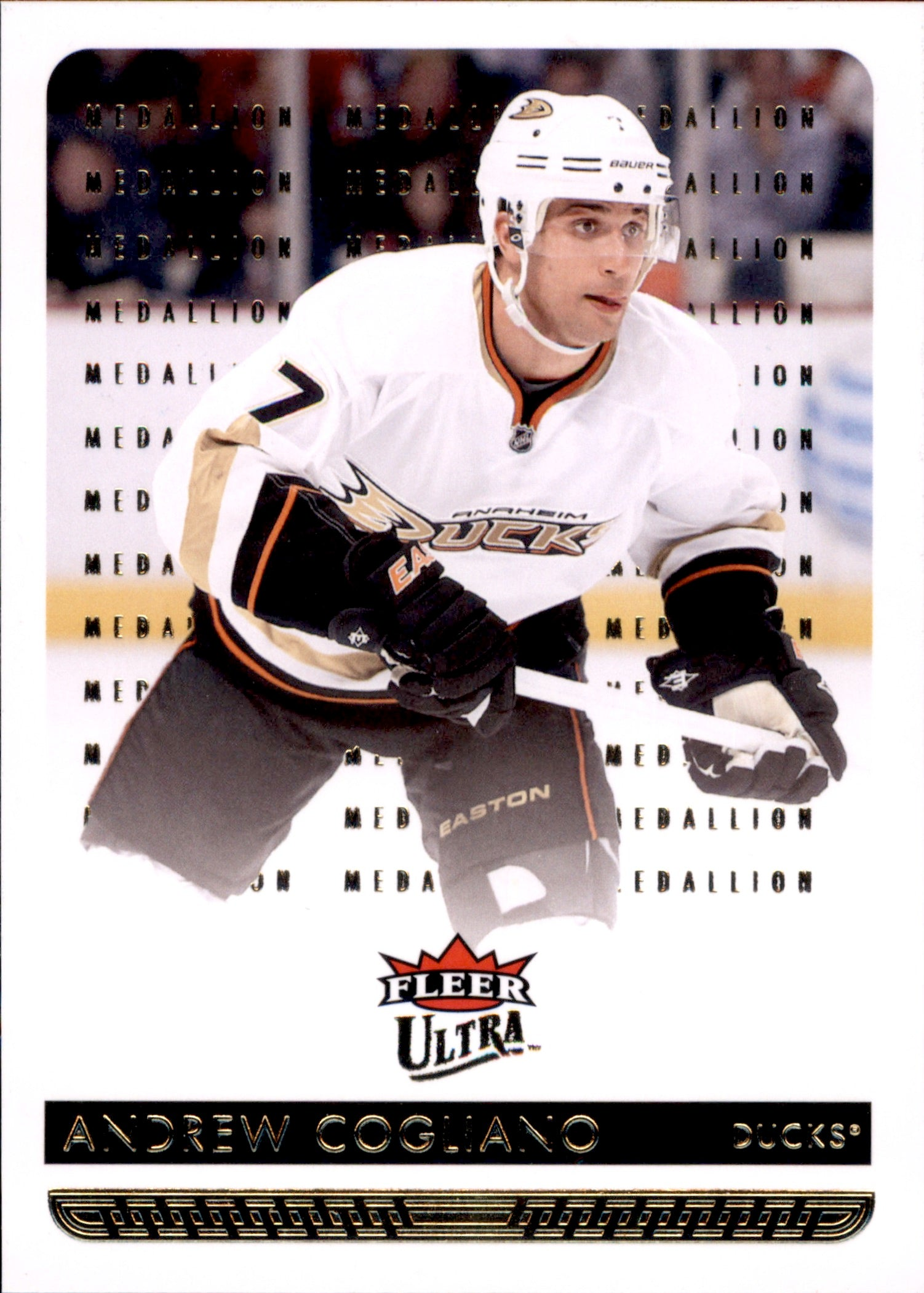 2014-15 Fleer Ultra Gold Medallion #004 Andrew Cogliano | Eastridge Sports Cards
