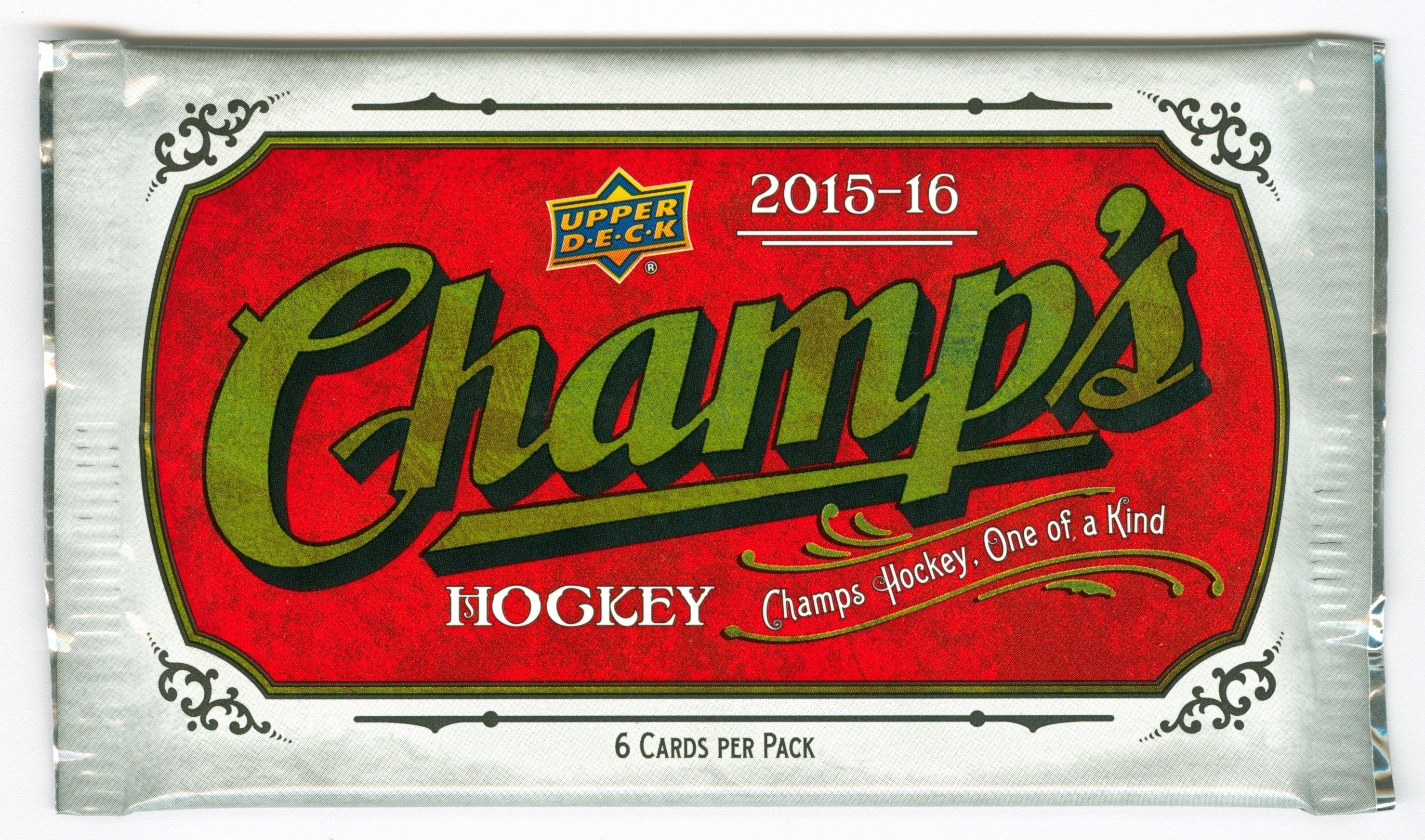 2015-16 Upper Deck Champ's Hockey Hobby Pack | Eastridge Sports Cards