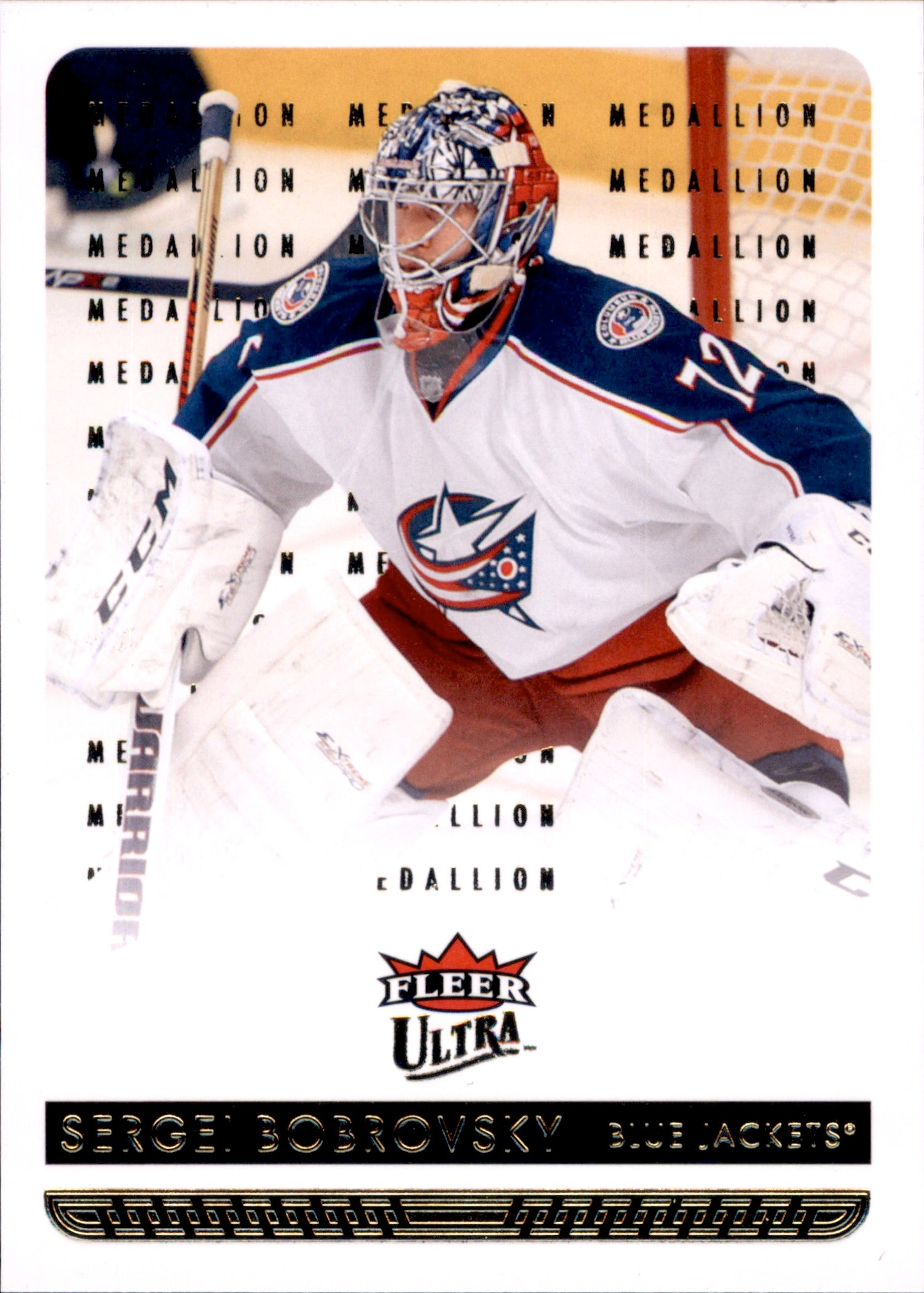 2014-15 Fleer Ultra Gold Medallion #048 Sergei Bobrovsky | Eastridge Sports Cards