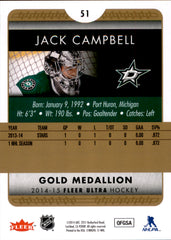2014-15 Fleer Ultra Gold Medallion #051 Jack Campbell | Eastridge Sports Cards
