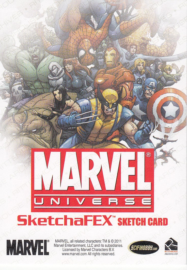 2011 Marvel Universe Sketches 1/1 | Eastridge Sports Cards