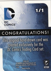 2012 Cryptozoic DC Comics New 52 Artist Sketches - Captain Cold 1/1 | Eastridge Sports Cards