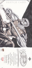 2014 Marvel Premier Sketches Triple Panel #5 Allen Geneta - BLADE | Eastridge Sports Cards
