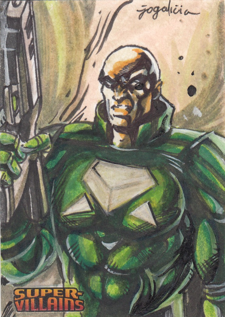 2015 DC Comics Super Villains Sketches #52 Jojo Galicia | Eastridge Sports Cards