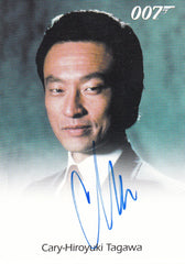 2016 James Bond Classics Autographs - Cary-Hiroyuki Tagawa LIMITED | Eastridge Sports Cards