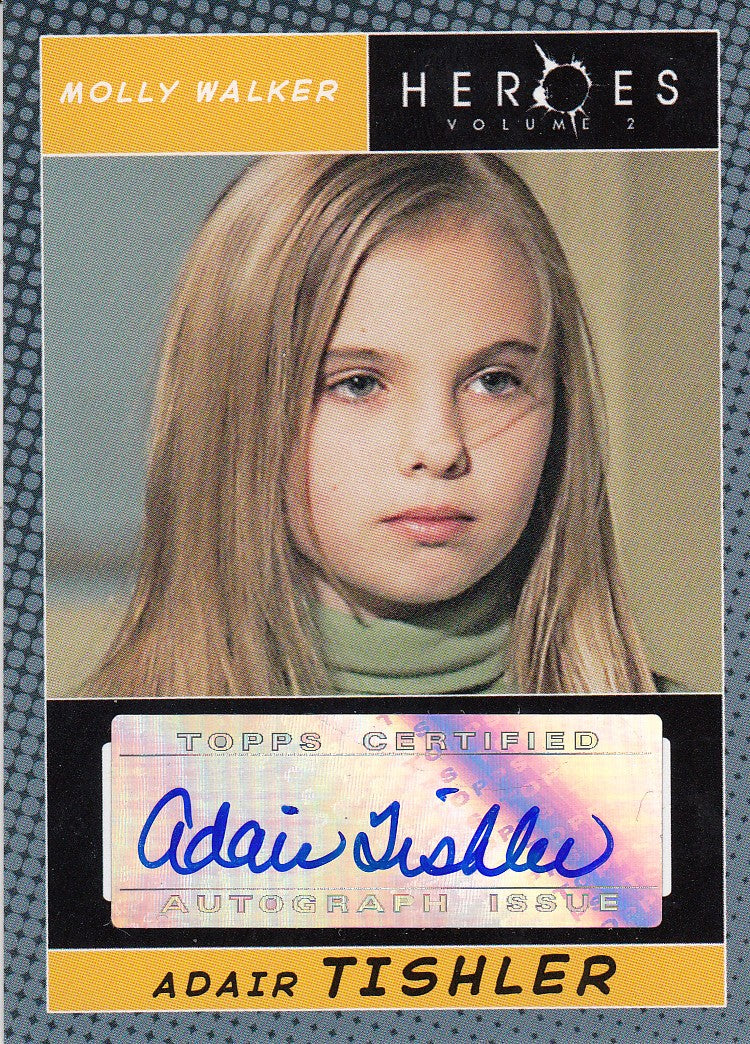 2008 Heroes Series Two Autographs - Adair Tishler | Eastridge Sports Cards