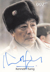 2013 James Bond Autographs and Relics Autographs - Kenneth Tsang LIMITED | Eastridge Sports Cards