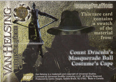 2004 Van Helsing Monster Piece Costumes #MP3 - Dracula's cape | Eastridge Sports Cards