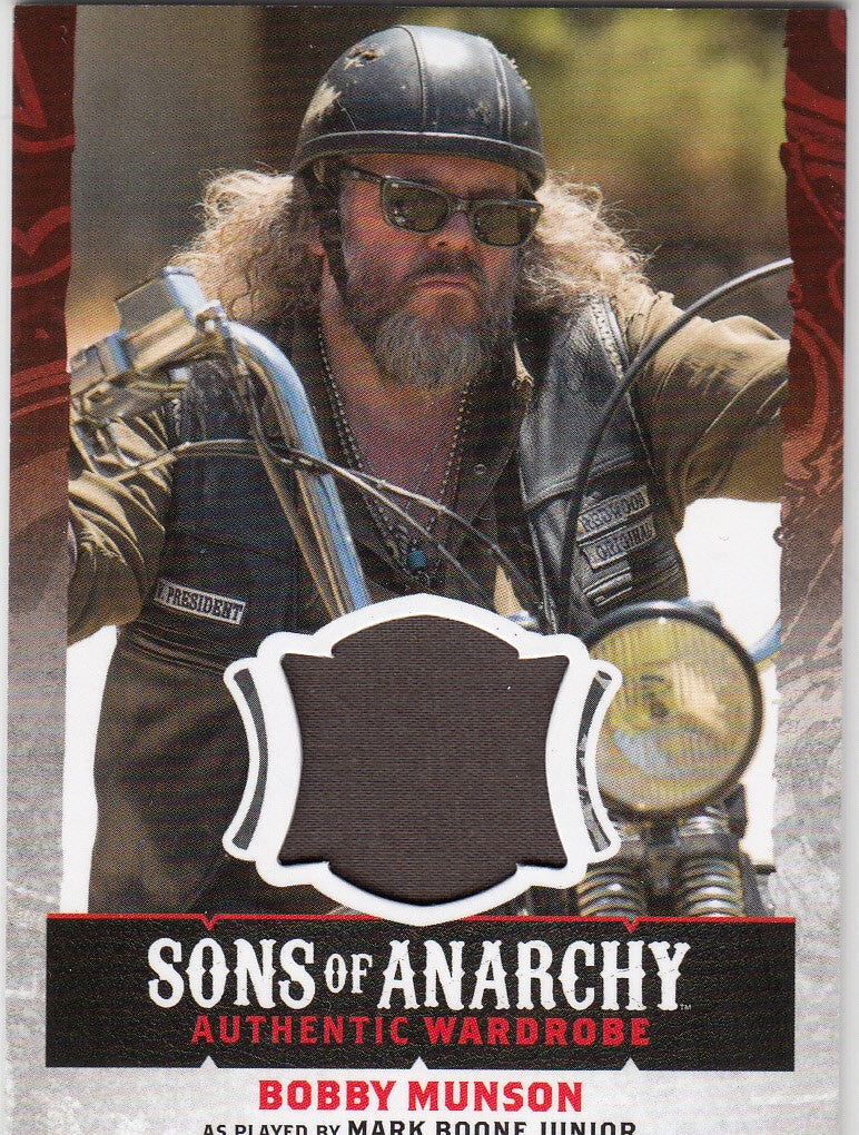 2015 Sons of Anarchy Seasons 4-5 Wardrobes #W04 - Bobby Munson | Eastridge Sports Cards