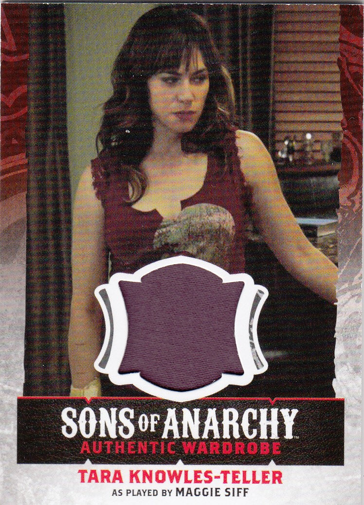 2015 Sons of Anarchy Seasons 4-5 Wardrobes #W05 - Tara Knowles-Teller | Eastridge Sports Cards