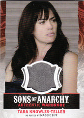 2015 Sons of Anarchy Seasons 4-5 Wardrobes #W11 - Tara Knowles-Teller | Eastridge Sports Cards
