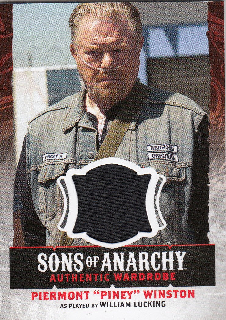 "2015 Sons of Anarchy Seasons 4-5 Wardrobes #W12 Piermont ""Piney"" Winston 