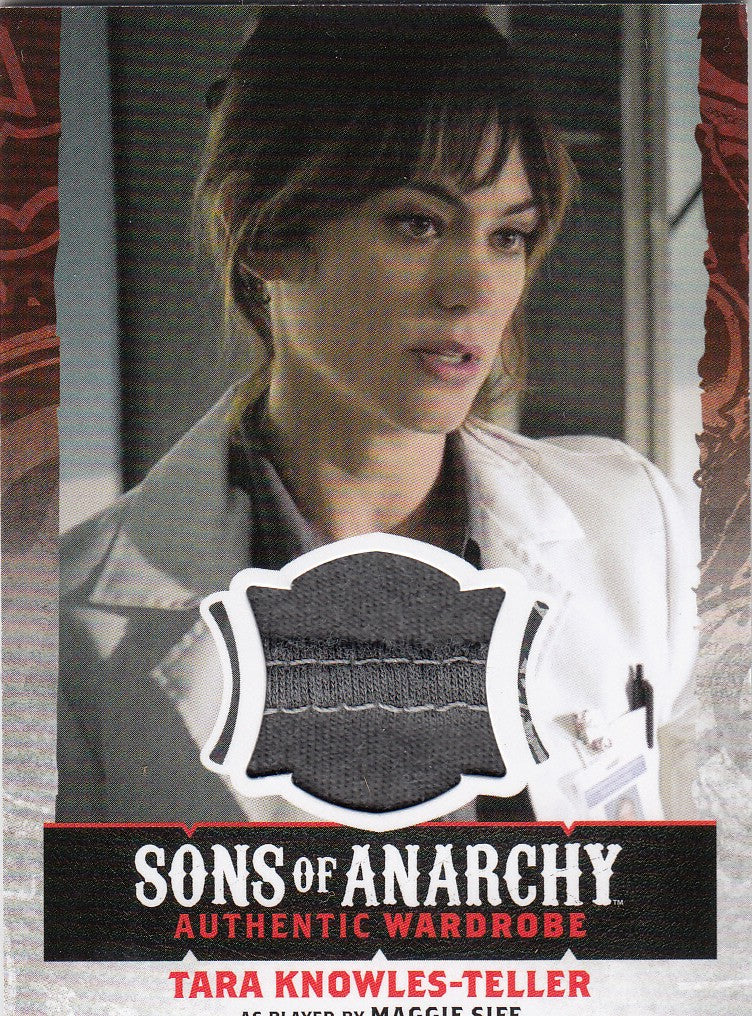 2015 Sons of Anarchy Seasons 4-5 Wardrobes #W17 - Tara Knowles-Teller | Eastridge Sports Cards