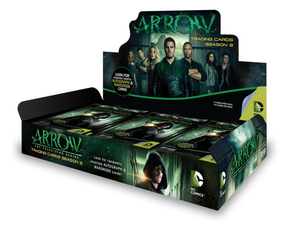 2015 Cryptozoic Arrow Season 2 Hobby Box | Eastridge Sports Cards