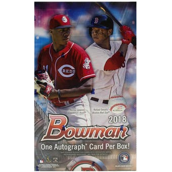 2018 Bowman Baseball Hobby Box | Eastridge Sports Cards