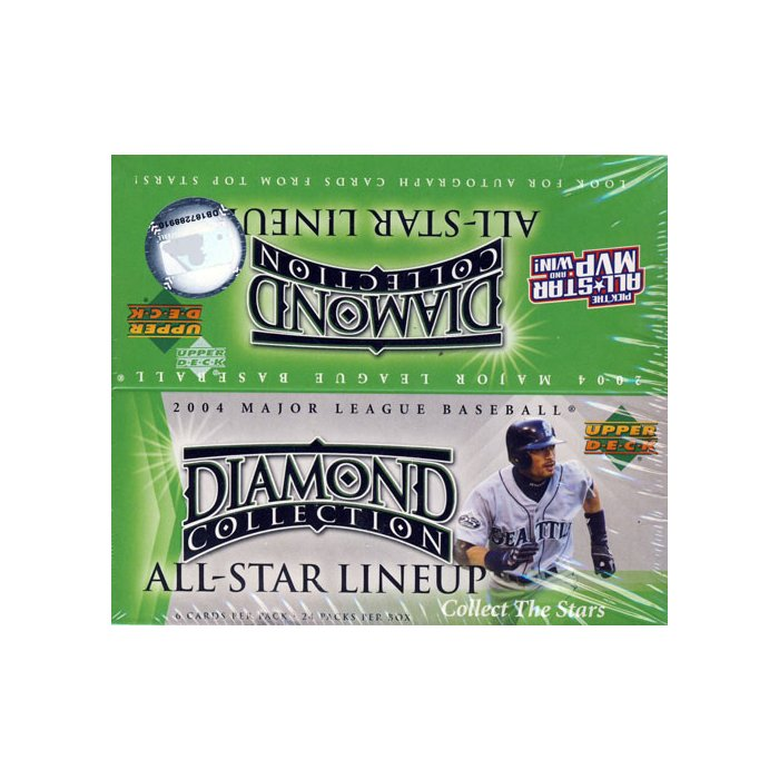 2004 Upper Deck Diamond Collection All-Star Lineup Baseball Retail Box | Eastridge Sports Cards