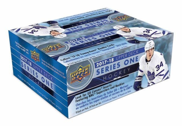 2017-18 Upper Deck Series 1 Hockey Retail Box | Eastridge Sports Cards
