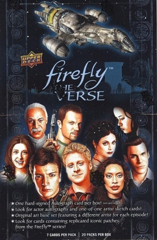 2015 Upper Deck Firefly: The Verse Hobby Box | Eastridge Sports Cards