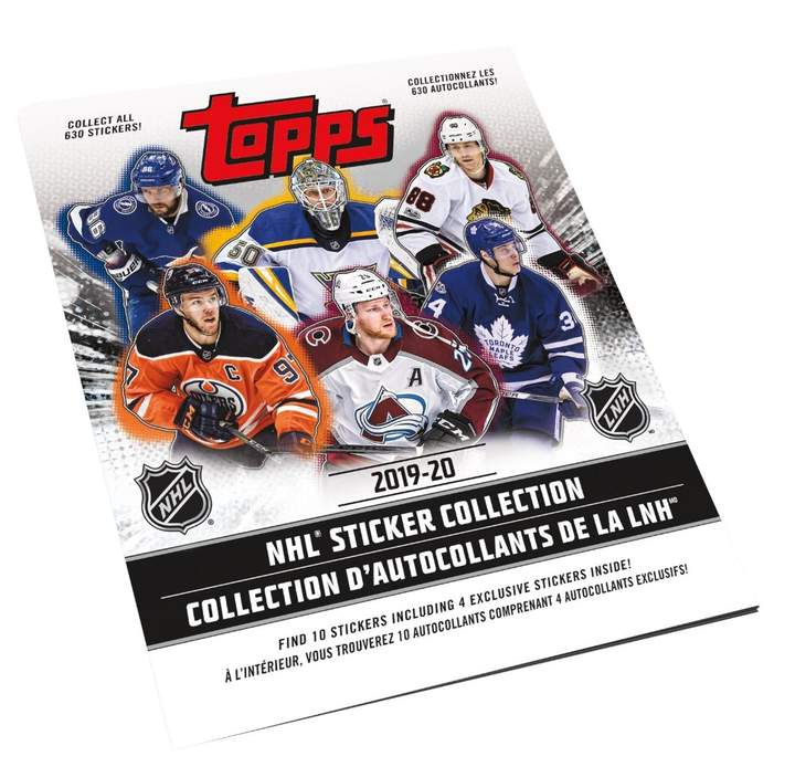 2019-20 Topps NHL Hockey Sticker Book | Eastridge Sports Cards
