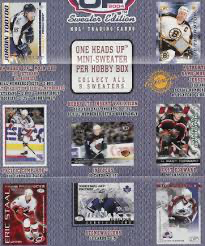 2003-04 Pacific Heads Up Sweater Edition Hobby Pack | Eastridge Sports Cards