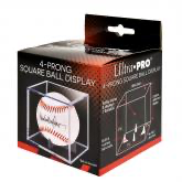 Ultra Pro Baseball Clear Square Holder (4-Prong) | Eastridge Sports Cards
