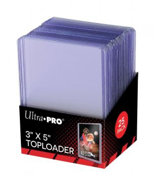 "Ultra Pro 3"" X 5""  Tallboy Toploaders 25ct 