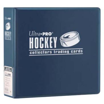 "Ultra Pro 3"" Blue Hockey Album 