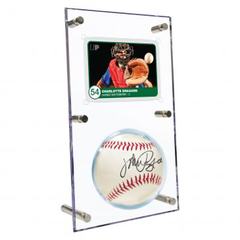 Ultra Pro Clear Ball & Card Flip Display | Eastridge Sports Cards