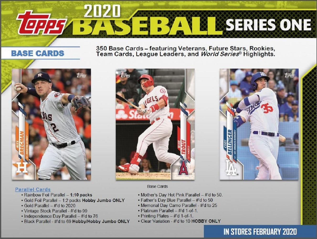 2020 Topps Series 1 Baseball Hobby Pack | Eastridge Sports Cards