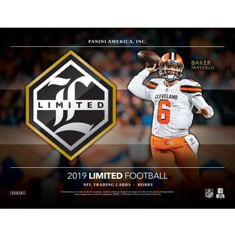 2019 Panini Limited Football Hobby Box | Eastridge Sports Cards