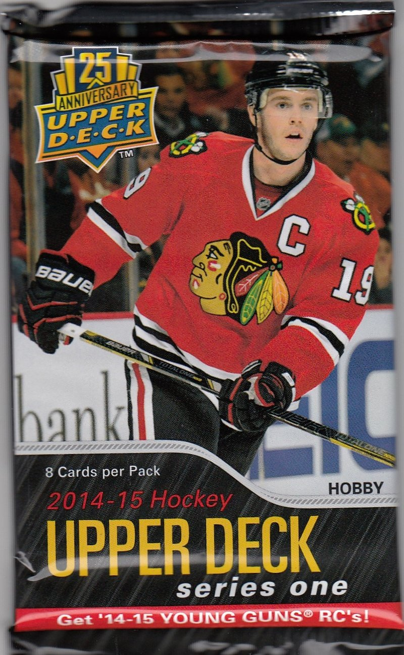 2014-15 Upper Deck Series 1 Hockey Hobby Pack | Eastridge Sports Cards