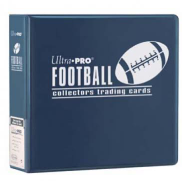 "Ultra Pro 3"" Blue Football Album 