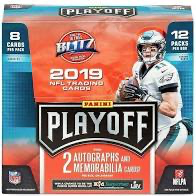 2019 Panini Playoff Football Hobby Pack | Eastridge Sports Cards