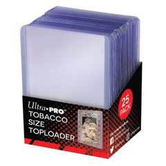 Ultra Pro Tobacco Size Toploader 25ct | Eastridge Sports Cards