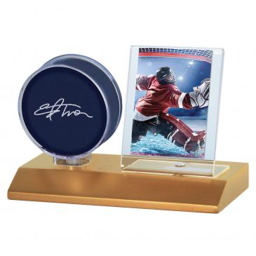 Ultra Pro Puck & Card Light Wood Holder | Eastridge Sports Cards